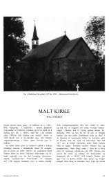 MALT KIRKE - Danmarks Kirker - Nationalmuseet