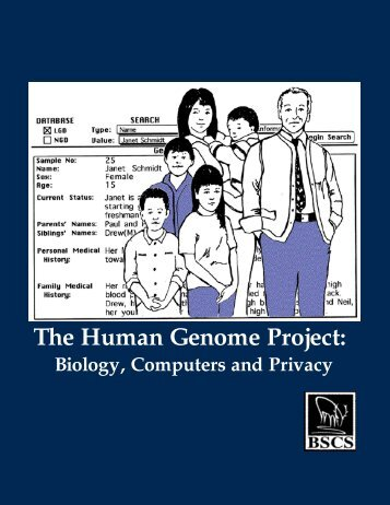 The Human Genome Project: Biology, Computers ... - SDSC Education