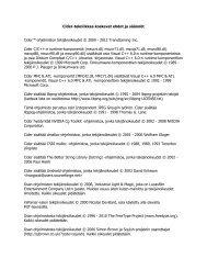 Cider-tekniikkaa koskevat ehdot ja säännöt Cider™-ohjelmiston ... - Ea