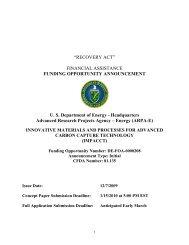 FOA - Florida Energy Systems Consortium