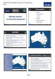 Bitumen Imports - Aapaq.org