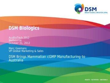 DSM Biologics