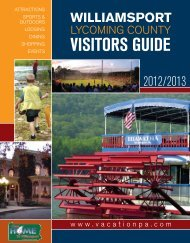 Download Visitors Guide - Williamsport Lycoming County Visitors ...