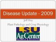 Sugarcane Disease Update