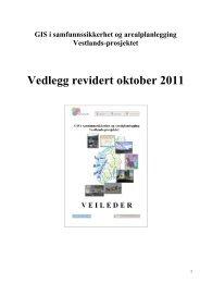 Vedlegg revidert oktober 2011 - Direktoratet for samfunnssikkerhet ...