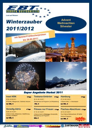 Winterzauber 2011/2012