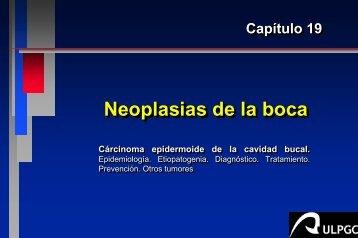 Neoplasias de la boca
