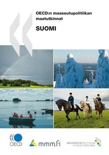 OECDn maaseutupolitiikan maatutkinnat Suomi - Maaseutupolitiikka