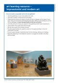 art learning resource – impressionist and modern art - National ... - Page 3
