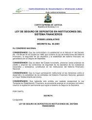 ley de seguro de depositos en instituciones del sistema - AHIBA