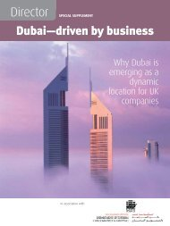 Dubai—driven by business