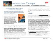 Tampa Travel Guide - AAA Western & Central New York