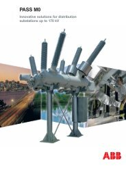 PASS M0 - Innovative solutions for distribution substations up to