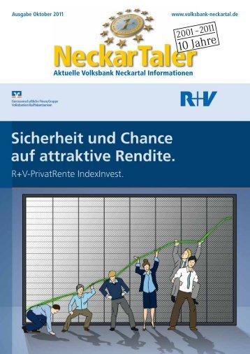 für Sie! - Volksbank Neckartal eG