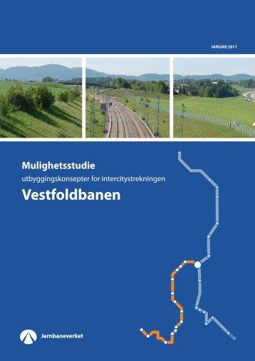 IC Mulighetsstudie Vestfoldbanen - Jernbaneverket