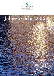 Jahresbericht Murg-Stiftung 2006