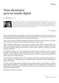 1 Tinta electrónica - Centro de Formación en Periodismo Digital ... - Page 6
