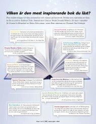 Böcker som inspirerar + hur du ger ut din egen - Free