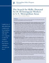 The Search for Skills - Brookings Institution
