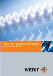 ELEKTRO- Installationsmaterial - Werit Kunststoffwerke W ...