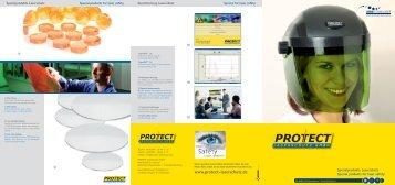 Spezialprodukte Laserschutz Special products for laser safety - AMS ...