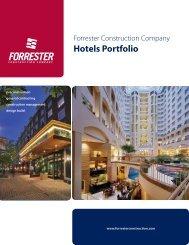 Hotels Portfolio - Forrester Construction