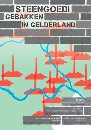 Folder STEENGOED! Gebakken in Gelderland april-september