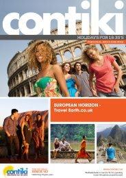 EUROPEAN HORIZON - Travel Earth.co.uk