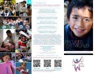 Projets JustWorld - Just World International