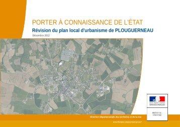 PORTER À CONNAISSANCE DE L'ÉTAT - Plouguerneau