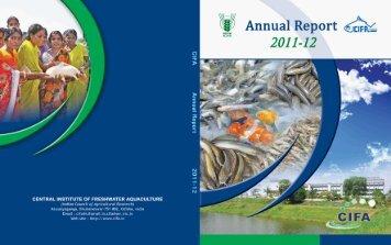 Annual Report 2011-2012 - Cifa