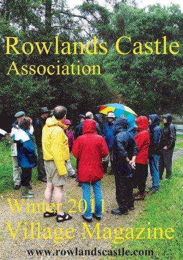 Rowlands Castle Association Village Magazine Winter 2011