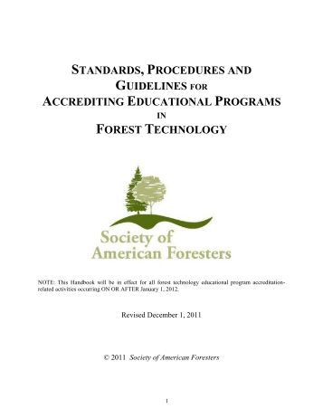standards, procedures and guidelines for accrediting educational ...