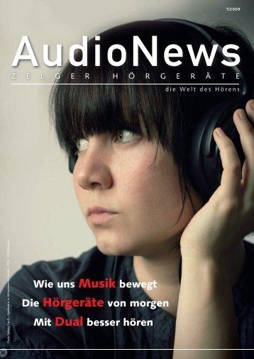 AudioNews 1/2009 - Zelger