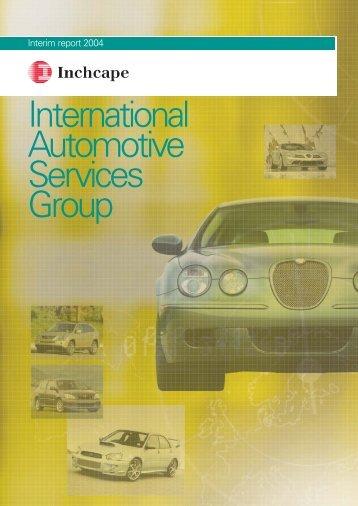 International Automotive Services Group - Inchcape
