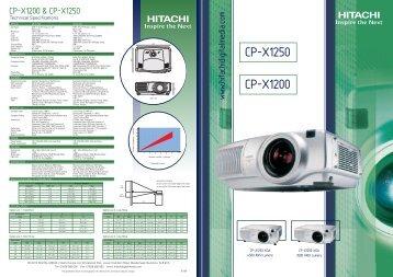 CP-X1250 CP-X1200 - Vitelsa Norte