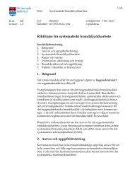 Riktlinjer för systematiskt brandskyddsarbete - Strömsunds kommun