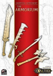 Tomes of Apocryphical Knowledge: The Armorium