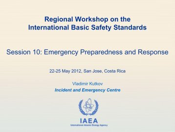 Session 10 - Emergency Preparedness and Response - gnssn