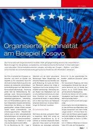 Organisierte Kriminalität am Beispiel Kosovo - Kripo.at