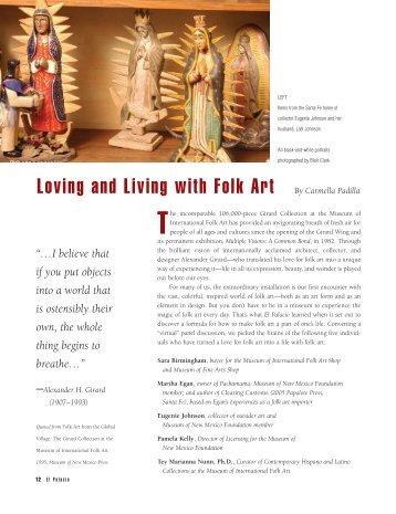 Loving and Living with Folk Art By Carmella Padilla - El Palacio ...