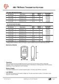 110/120 datasheet - RF Solutions - Page 2