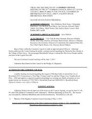 OFFICIAL NOTICE AND AGENDA - City of Brookfield