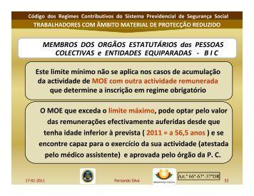 Parte IV - Ordem dos Técnicos Oficiais de Contas
