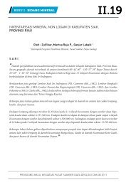 inventarisasi mineral non logam di kabupaten siak, provinsi riau