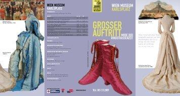 grosser auftritt - Wien Museum