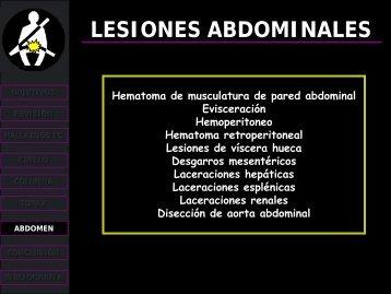 lesiones abdominales