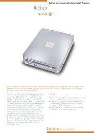 Belinea recommends Windows Vista® Business.