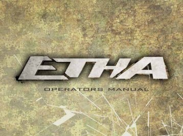 Planet Eclipse Etha Manual - Paint Supply GmbH
