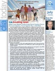 breaking news - Cruise Lines International Association